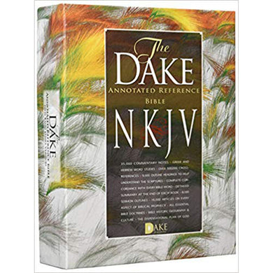 NKJV The Dake Annotated Reference Bible Burgundy Bonded Leather