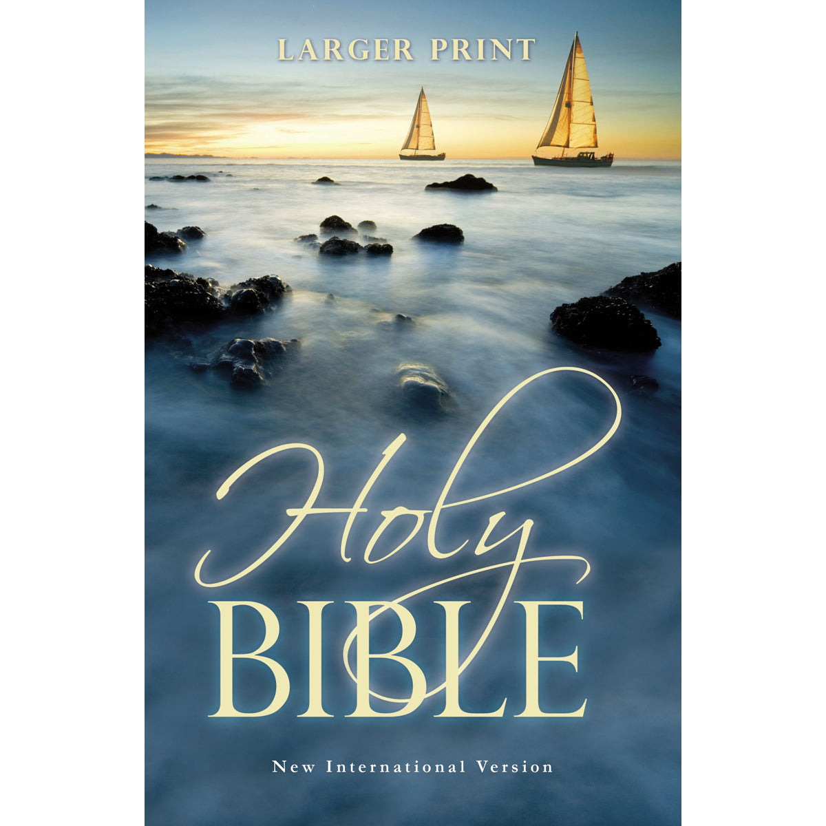 NIV Holy Bible Larger Print Sea (Paperback)