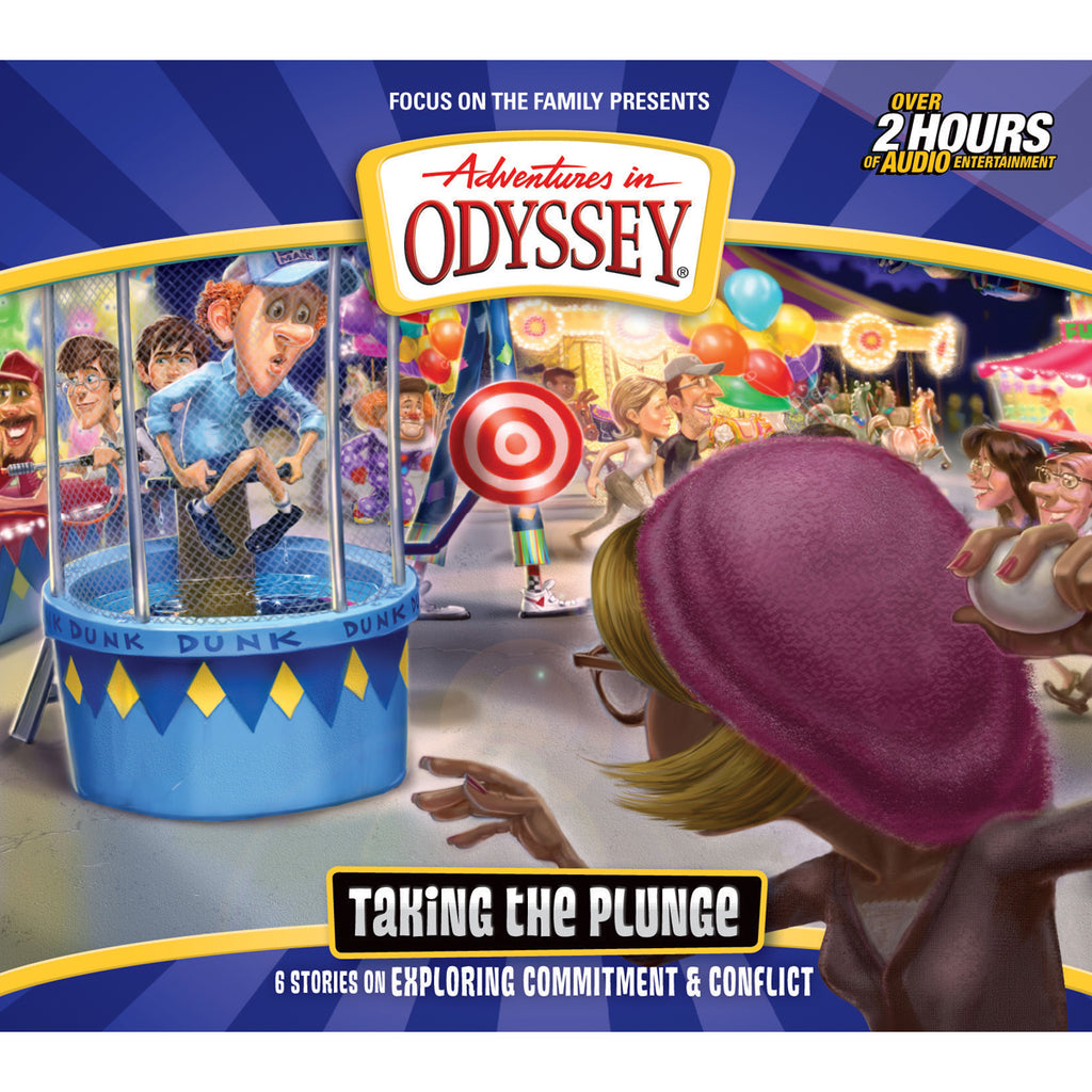 Taking The Plunge (Adventures In Odyssey)(Audio CD)