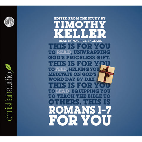 Load image into Gallery viewer, Romans 1-7 For You (Unabridged)(Audio CD)