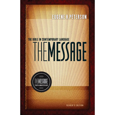 The Message 10th Anniversary Reader's Edition (Hardcover)