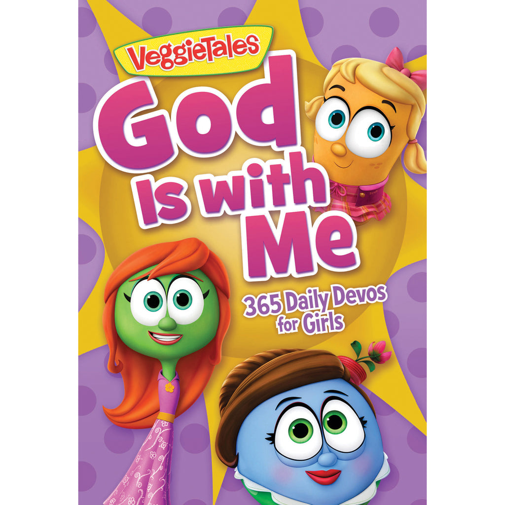 God Is With Me: 365 Daily Devotions For Girls (VeggieTales)(Paperback)