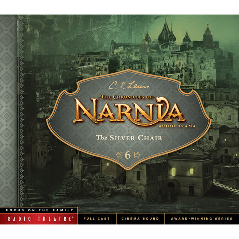 Load image into Gallery viewer, The Silver Chair: The Chronicles of Narnia, Repackaged (Audio CD)