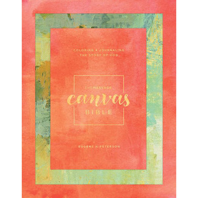 The Message Canvas Bible Spring Palette (Hardcover)