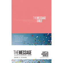 Load image into Gallery viewer, The Message Gift & Award Bible Pink (Imitation Leather)
