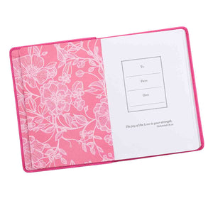 The Serenity Prayer Pink (Handy-Sized LuxLeather Journal)