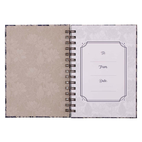Load image into Gallery viewer, Proverbs 3:5 Trust In The Lord With All Your Heart (Large Hardcover Wirebound Journal)