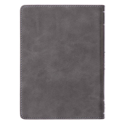 Load image into Gallery viewer, Best Dad Joshua 1:9 Black (Handy-Sized Faux Leather Journal)