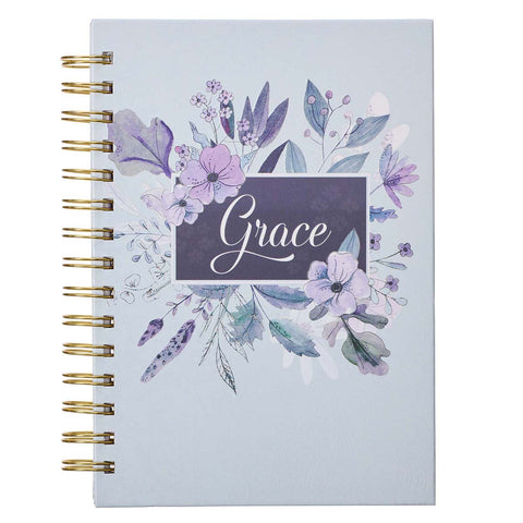 Load image into Gallery viewer, Grace (Large Hardcover Wirebound Journal)