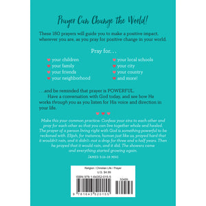 180 Prayers To Change The World For Adults (Paperback)