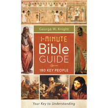 Load image into Gallery viewer, 1-Minute Bible Guide 180 Key People (Mass Market Paperback)