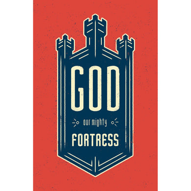 God Our Might Fortress (Pack Of 25)(Booklets)