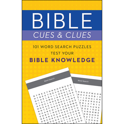 Bible Cues And Clues 101 Word Search Puzzles Test Your Bible Knowledge (Paperback)