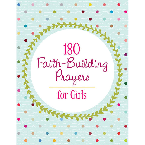 Load image into Gallery viewer, 180 Faith Building Prayers For Girls (Paperback)