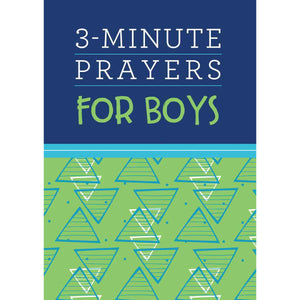 3 Minute Prayers For Boys (Paperback)