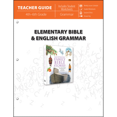 Elementary Bible & English Grammar (Teacher Guide)(Paperback)