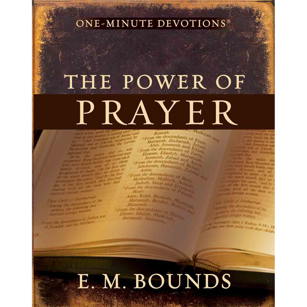 One Minute Devotions The Power Of Prayer (Hardcover)