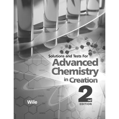 Advanced Chemistry In Creation 2nd Edition, Solutions And Tests (Paperback)