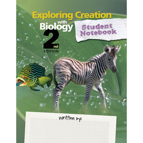 Exploring Creation With Biology 2nd Edition Student Notebook (Spiral Bound)