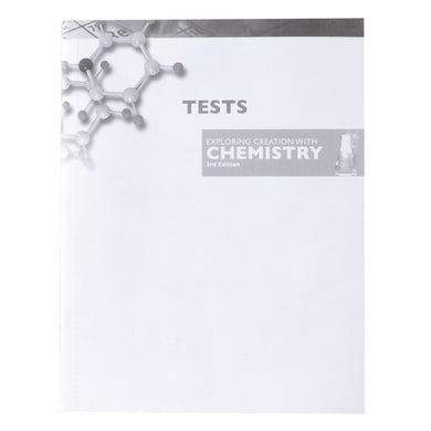 Exploring Creation With Chemistry 3rd Edition, Solutions And Tests (Paperback)