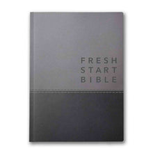 Load image into Gallery viewer, NLT Fresh Start Bible: Deluxe Grey (Imitation Leather)