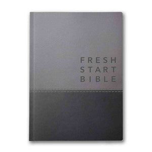 NLT Fresh Start Bible: Deluxe Grey (Imitation Leather)