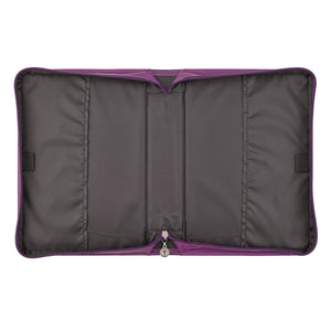 Blessed Is The One Who Trusts In The Lord (LuxLeather Bible Bag)
