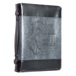 Be Strong And Courageous (Imitation Bible Bag)