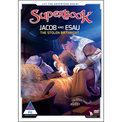 Load image into Gallery viewer, Superbook:Jacob & Esau (DVD)