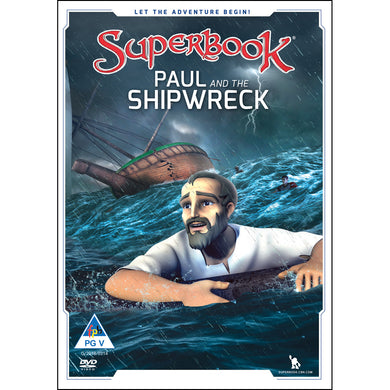 Superbook 2: Paul And Shipwreck (DVD)