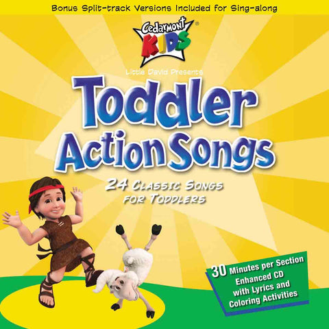 Toddler Action Songs (CD)