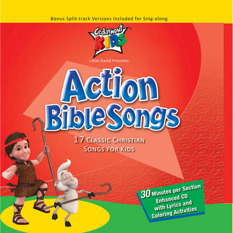 Action Bible Songs (CD)