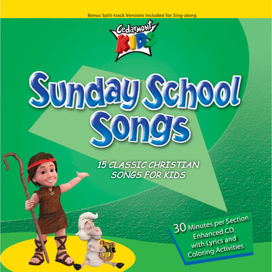 Sunday School Songs (CD)