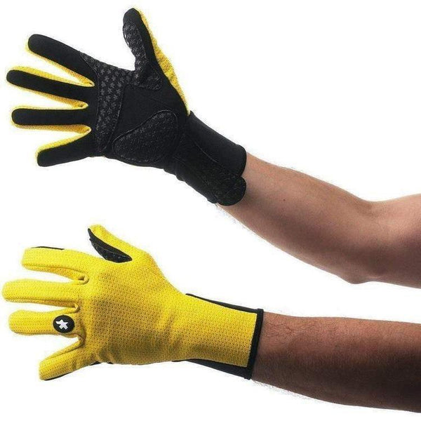 Assos Early Winter Gloves 851 Yellow-bikeZaar