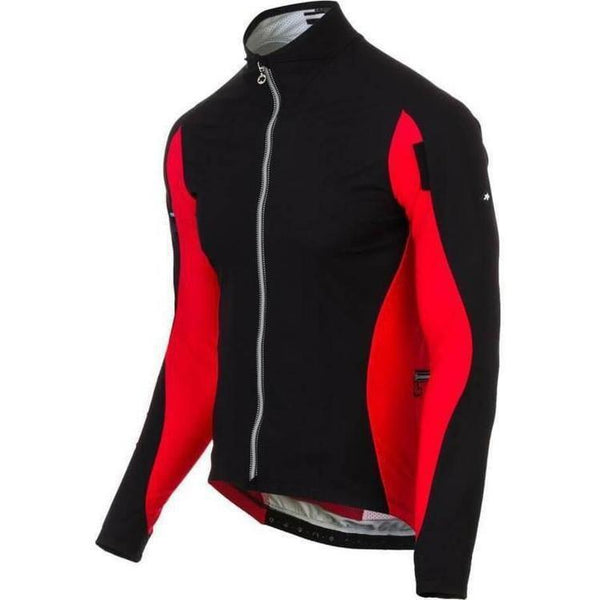 Assos IJ HaBu Jacket Red Swiss-XS-Clothing-Assos, Assos Outlet, In Stock Only, Jacket, Jackets, M, Medium, Mens, Midweight, On Sale, Red, Reflective, Road, S, Small, Windproof, Winter, X-Small, XLG (XXL), XS, XX-Large, £100 - £200-11.30.312.48.XS-bikeZaar