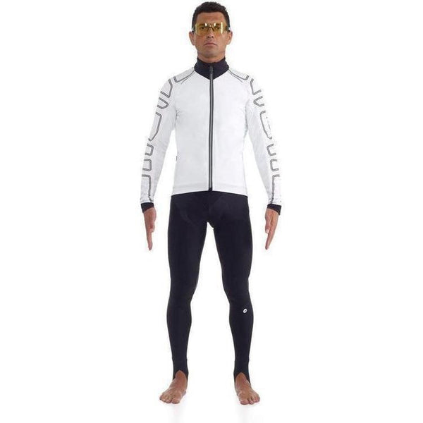 Assos IJ.Shaq Uno Windproof Jacket White Panther-bikeZaar