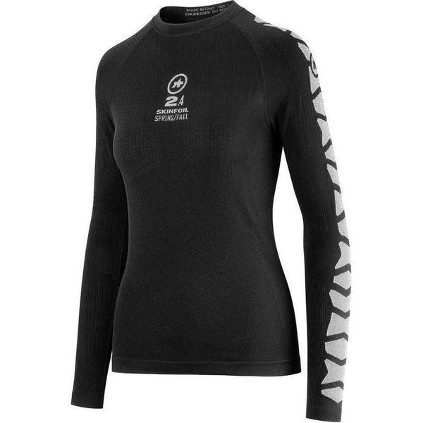 Assos Long Sleeve Skin Foil Spring/Fall_EVO7 Base Layer Black-0-bikeZaar