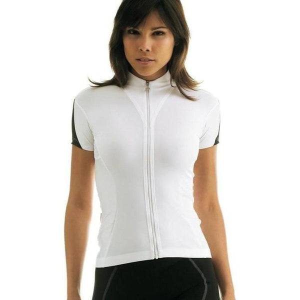 Assos Short Sleeve 13 Lady Jersey White Panther-bikeZaar