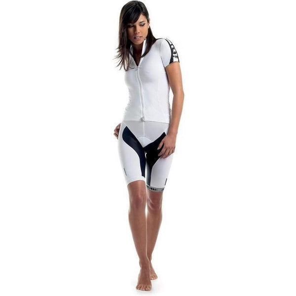 Assos Short Sleeve 13 Lady Jersey White Panther-XS-bikeZaar