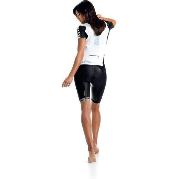 Assos Short Sleeve 13 Lady Jersey White Panther-XS-Clothing-bikeZaar