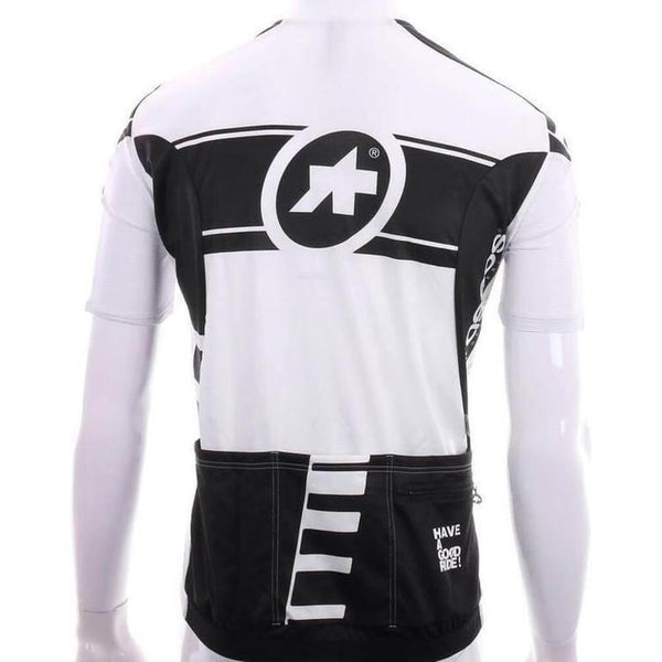 Assos Short Sleeve Corporate_S7 Jersey Black Volkanga-S-Clothing-Assos, Assos Outlet, Black, In Stock Only, Jerseys, Lightweight, Mens, On Sale, Reflective, Road, S, Short Sleeve, Small, UV Protection, Wicking, £50 - £100-13.20.249.12.S-bikeZaar