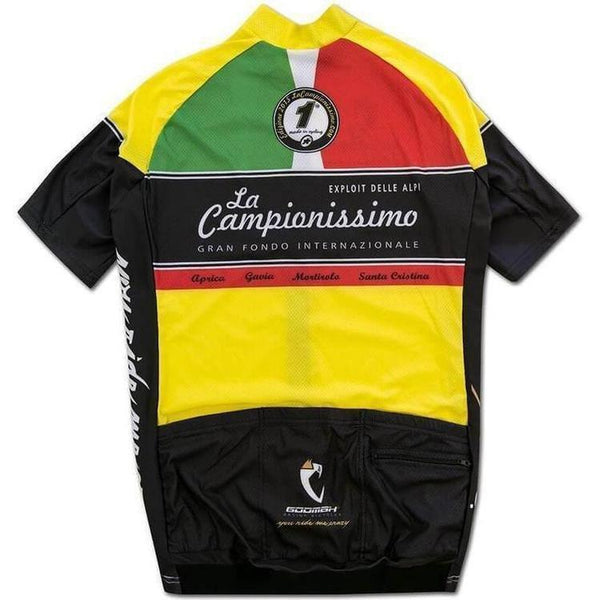 Assos Short Sleeve La Campionissimo Jersey-S-Clothing-Assos, Assos Outlet, Below £50, Black, In Stock Only, Jerseys, L, Large, M, Medium, Mens, MTB, On Sale, Price Drop, Road, S, Short Sleeve, Small, Yellow-33.26.297.99.S-bikeZaar