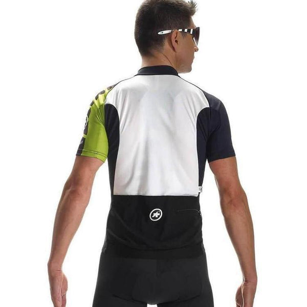 Assos Short Sleeve Mille Jersey EVO7 Green-S-Clothing-bikeZaar