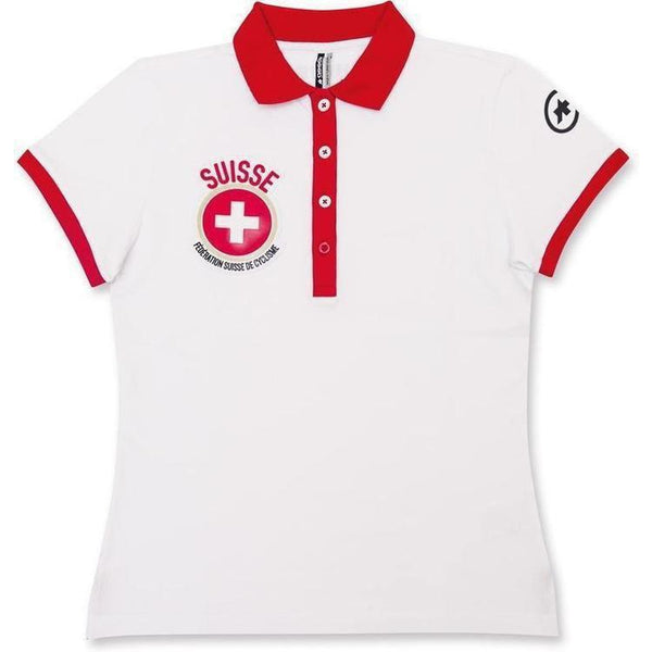 Assos Short Sleeve Polo Suisse Fed Lady-bikeZaar