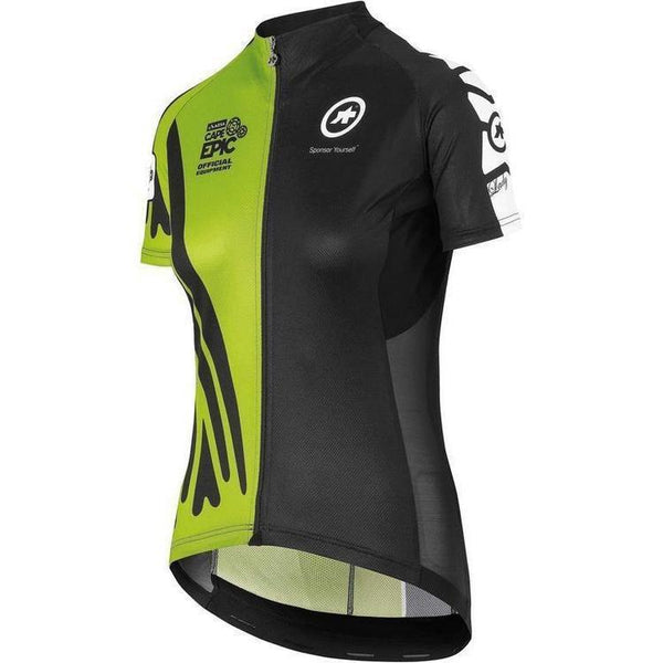 Assos SS.Cape Epic XC Jersey_EVO7 Lady Piton Green-XS-Clothing-Assos, Assos Outlet, Black, Clearance, Green, In Stock Only, Jerseys, L, Large, M, Medium, MTB, On Sale, S, Short Sleeve, Small, Womens, X-Large, X-Small, XL, XS, £50 - £100-52.20.202.63.XS-bikeZaar
