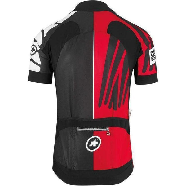 Assos SS.Cape Epic XC Jersey_EVO7 National Red-S-Clothing-Assos, Assos Outlet, Black, Clearance, In Stock Only, Jerseys, L, Large, M, Medium, Mens, MTB, On Sale, Red, S, Short Sleeve, Small, £50 - £100-53.20.200.47.S-bikeZaar
