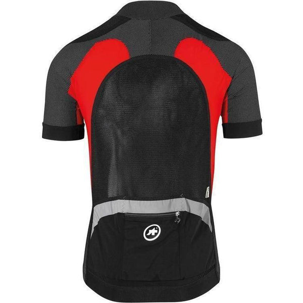 Assos SS.Rally Trekking Jersey_EVO7 National Red-XS-Clothing-Assos, Assos Outlet, Clearance, In Stock Only, Jerseys, Lightweight, Mens, MTB, On Sale, Price Drop, Red, S, Short Sleeve, Small, X-Large, X-Small, XL, XLG (XXL), XS, XX-Large, £50 - £100-53.20.201.47.XS-bikeZaar
