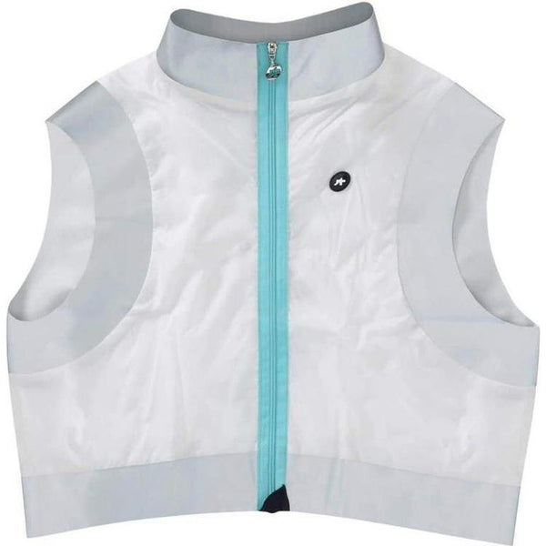 Assos SV.Emergency Vest White Panther-XS-Clothing-Assos, Assos Outlet, Below £50, Clearance, Gilets & Vests, Hi-Viz, In Stock Only, Lightweight, On Sale, Reflective, Road, S, Small, TIR (XXXL), Unisex, Vests, White, Winter, X-Large, X-Small, XL, XLG (XXL), XS, XX-Large, XXX-Large-13.34.324.56.XS-bikeZaar