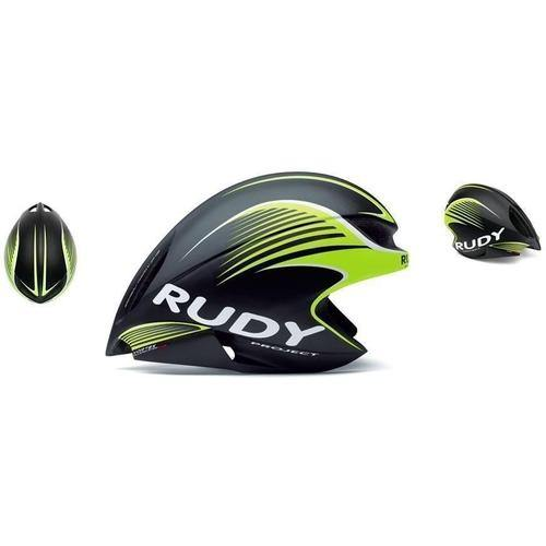 Rudy Project Wing 57 Helmet-Black/Lime Green-S/M-Helmets-bikeZaar
