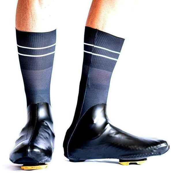 Spatz Windsock Black Shoe Covers-S-bikeZaar